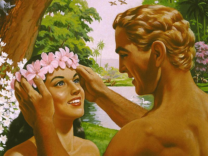 Цветы-Адам-и-Ева