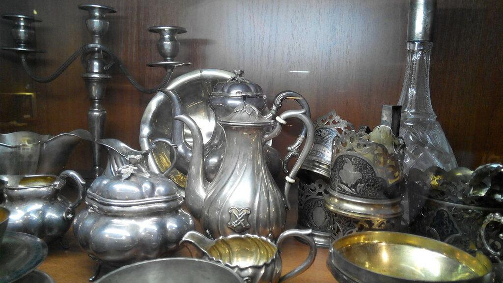 Серебряная-посуда